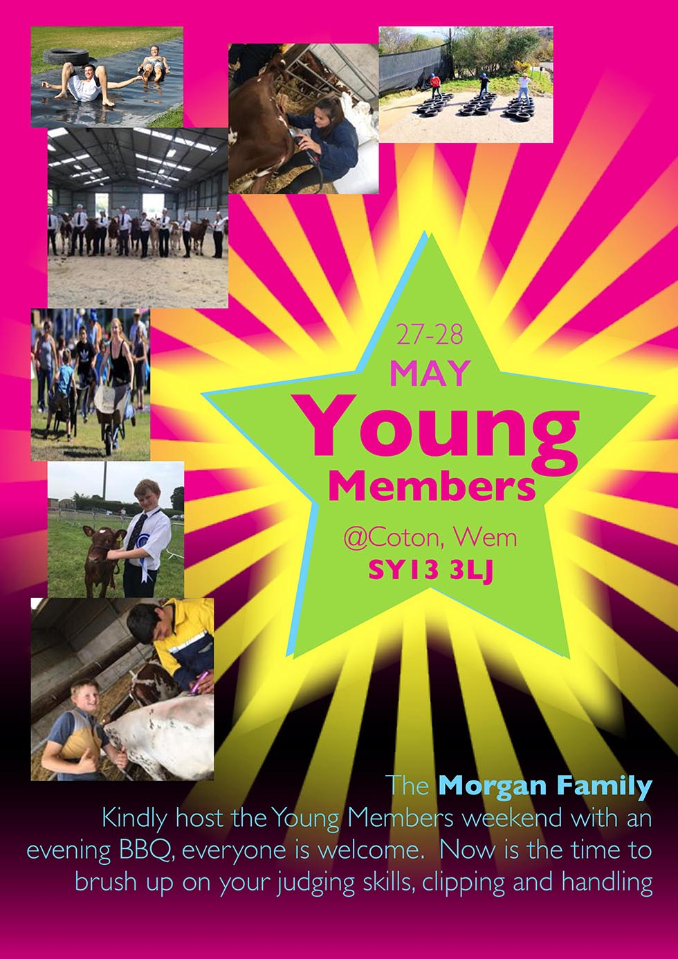 Young Members - 27th/28th May